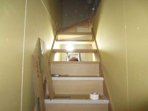 王道アパート木工事完了